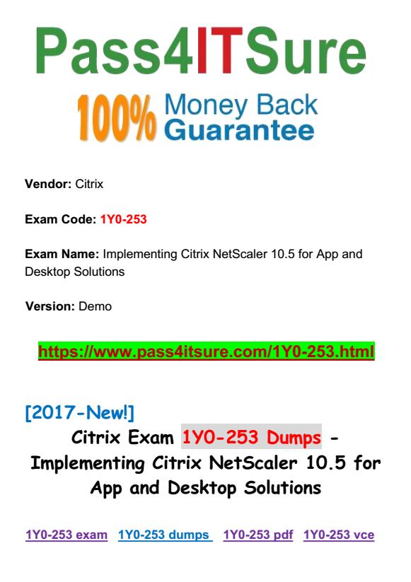 Citrix Virtual Desktop Handbook 7.6 LTSR