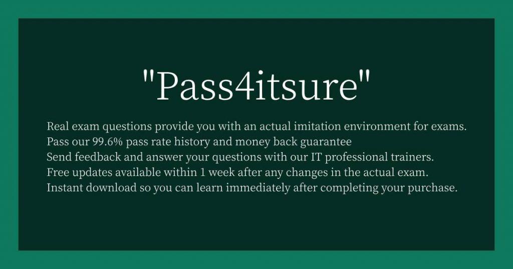 Pass4itsure?